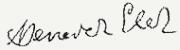 Benedek Elek aláírása