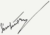 József Attila aláírása